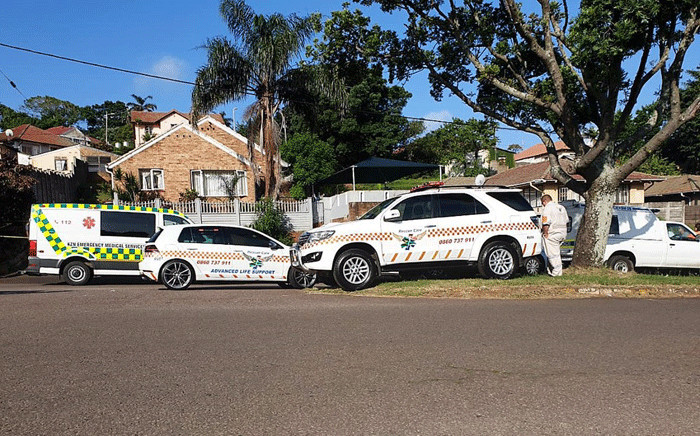 It has now been confirmed that the three children were aged between nine and 17 and it's been established that the adults discovered in the Montclair home were their parents. Picture: @_ArriveAlive/Twitter.