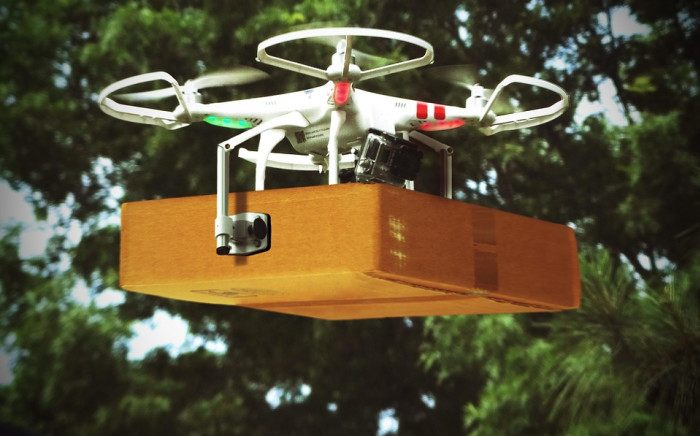 Drone Delivery. Picture: Supplied.