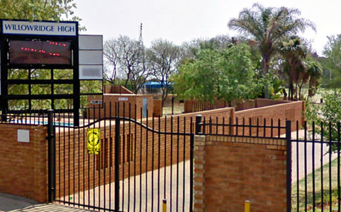 Willowridge High School in Pretoria. Picture: Google Earth