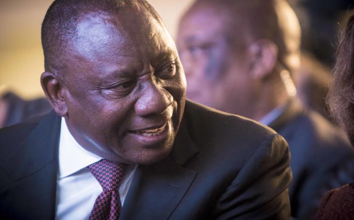 Deputy Presidnet Cyril Ramaphosa. Picture: Thomas Holder/EWN