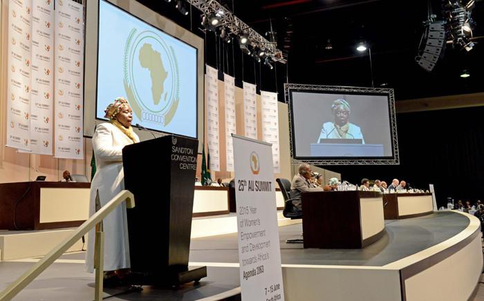 African Union Commission chairperson Dr Nkosazana Dlamini-Zuma. Picture: GCIS.