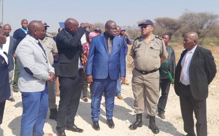 Deputy Home Affairs Minister Njabulo Nzuza (in blue suit). Picture: Home Affairs.