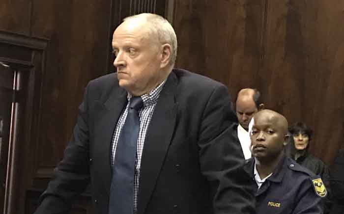 Alleged wife killer Rob Packham appears in the Western Cape High Court on 19 March. Picture: Lauren Isaacs/EWN