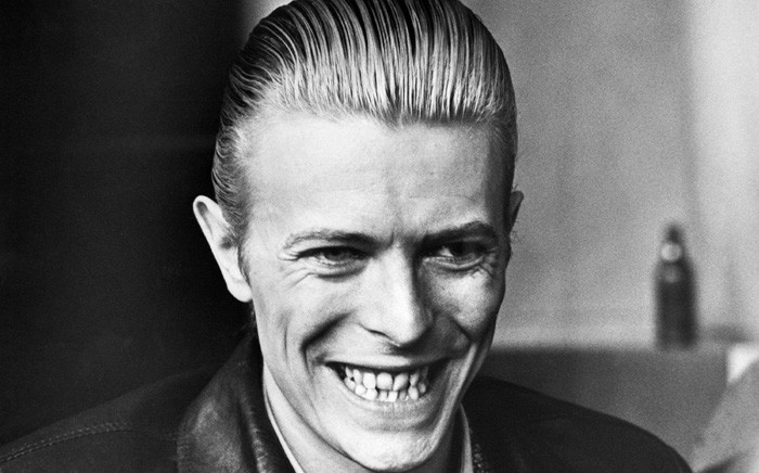 FILE: David Bowie pictured in April 1976 in Helsinki. Picture: AFP.