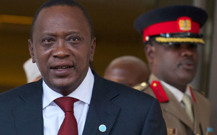 The fate of the politically fraught trial of Kenyan President Uhuru Kenyatta could be decided on Wednesday. Picture: AFP.
