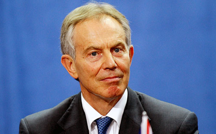 FILE: Former British Prime Minister Tony Blair. Picture: Supplied