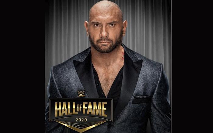 WWE star Dave Bautista. Picture: wwe.com