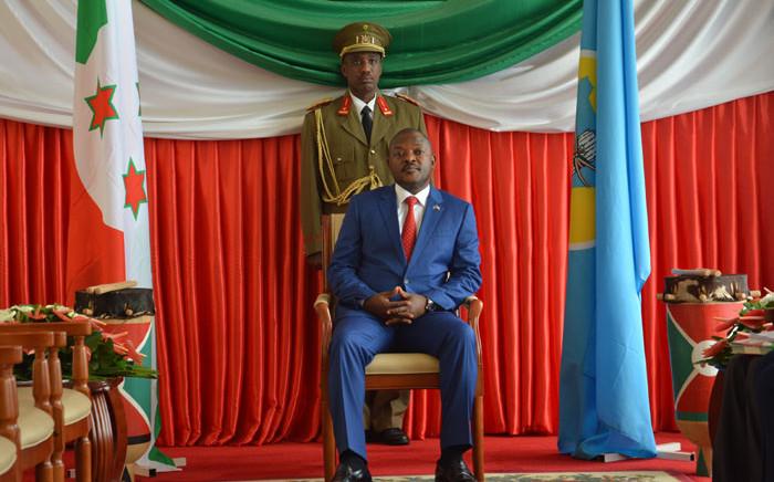 FILE: Late Burundian president Pierre Nkurunziza. Picture: AFP