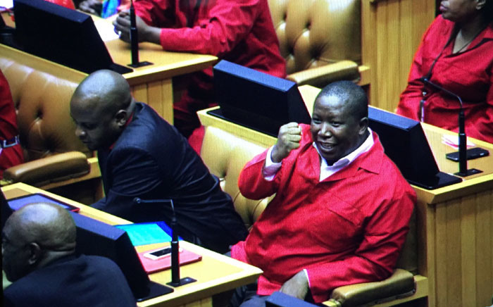 FILE: The EFF's tactic has angered political parties in the National Assembly. Picture: Thomas Holder/EWN.