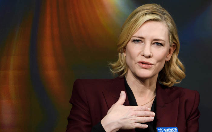 FILE: Cannes jury head Cate Blanchett. Picture: AFP.