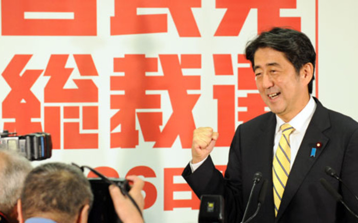 FILE: Shinzō Abe, Prime Minister of Japan. Picture: AFP.
