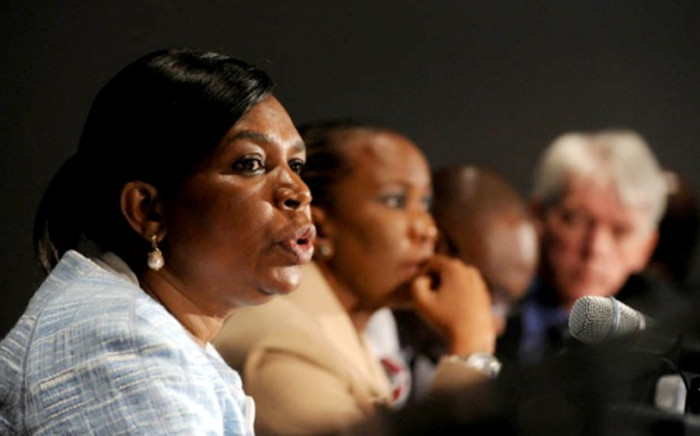 Former communications minister Dina Pule. Picture:GCIS