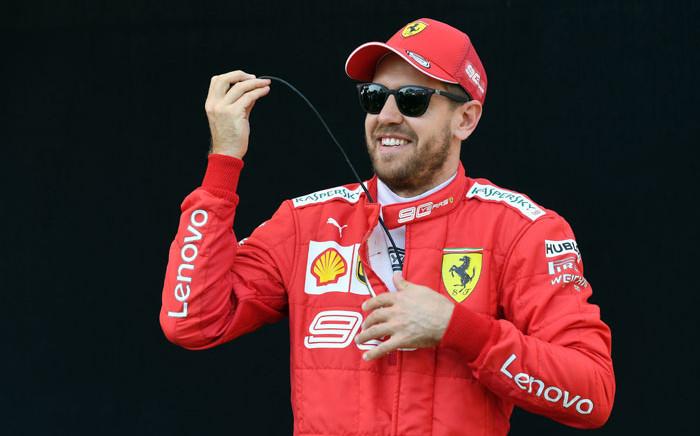 Ferrari driver Sebastian Vettel in Melbourne on 14 March 2019, ahead of the Australian Formula One Grand Prix. Picture: AFP