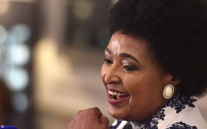 Winnie Madikizela-Mandela at her 80th birthday celebration. Picture: GCIS.
