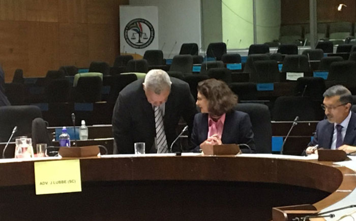 Former Public Investment Corporation (PIC) board member Claudia Manning testifying at the commission of inquiry on 29 January 2019. Picture: EWN
