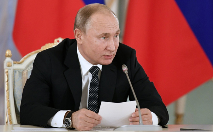 Russian President Vladimir Putin. Picture: @KremlinRussia_E/Twitter.