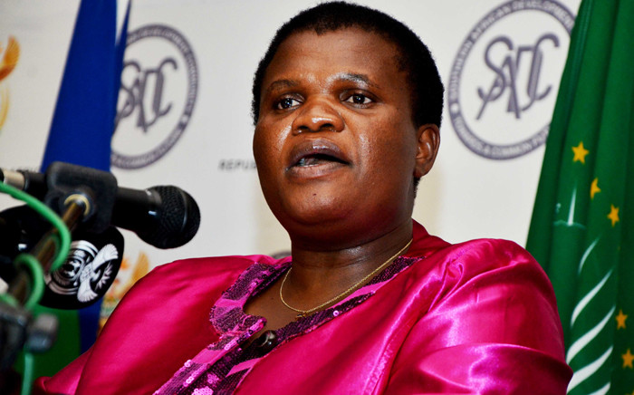 Communication Minister, Faith Muthambi. Picture: GCIS.