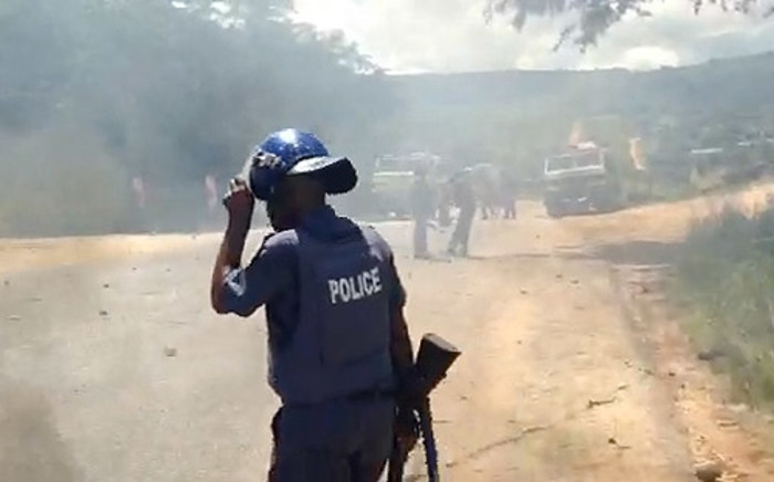 Moses Dlamini says investigations into the police's actions during protests are underway. Picture: Reinart Toerien/EWN.