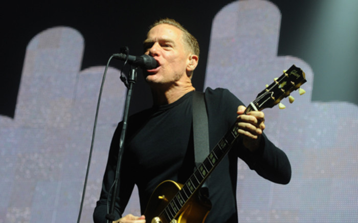 FILE: Canadian musician Bryan Adams performs on stage in Bratislava, Slovakia on July 28, 2012. Picture: AFP.
