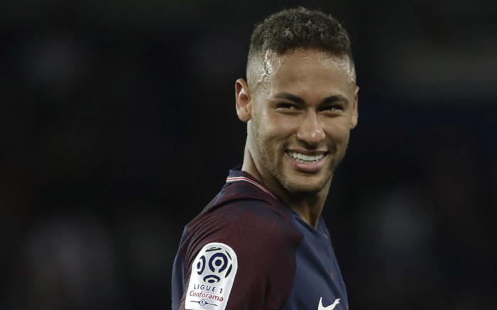 FILE: Paris Saint-Germain's Brazilian forward Neymar smiles during the French L1 football match Paris Saint-Germain (PSG) vs Toulouse FC (TFC) at the Parc des Princes stadium in Paris on 20 August 2017. Picture: AFP