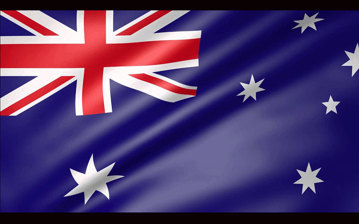 Australian flag. Picture: YouTube.