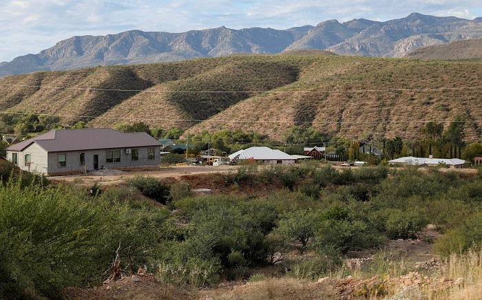 View of La Mora or La Morita ranch in Bavispe, Sonora state, Mexico, on 6 November 2019, belonging to the Mexican-American LeBaron family -nine of which were killed in a hail of bullets on 4 November. Picture: AFP