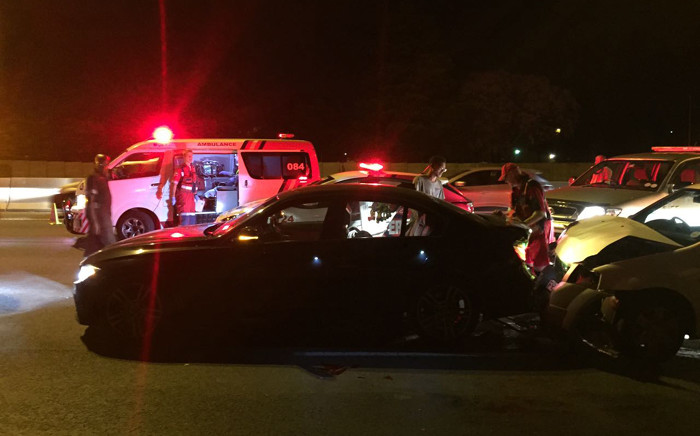 FILE: ER24 paramedics on scene of an accident. Picture: ER24