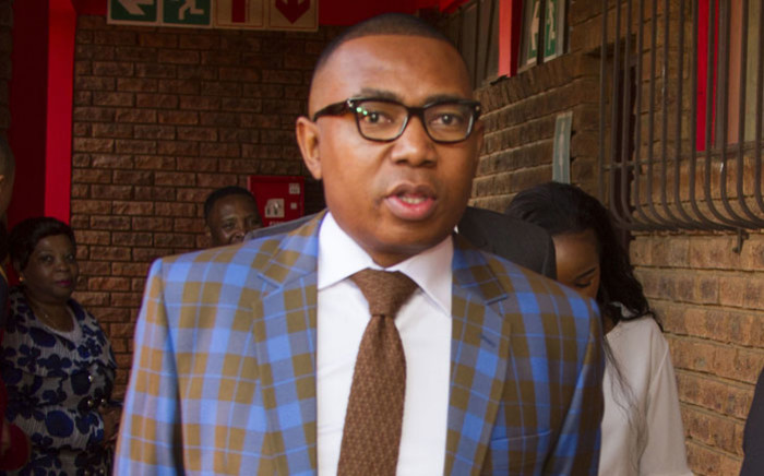 Former deputy Higher Education Minister Mduduzi Manana. Picture: City of Ekurhuleni.