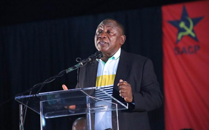 FILE: Cyril Ramaphosa. Picture: Twitter/@SACP1921.