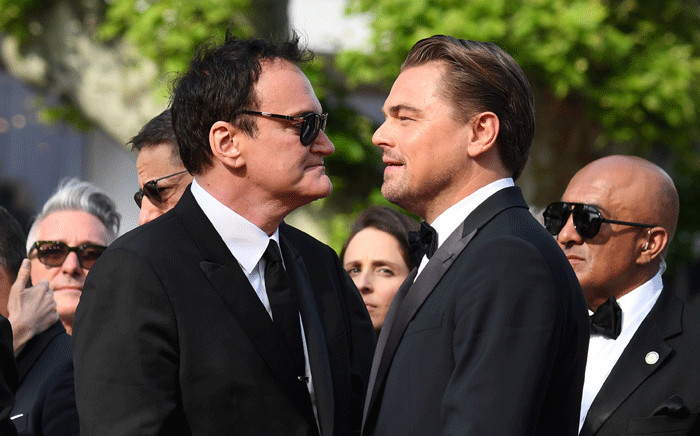 FILE: US film director Quentin Tarantino (L) and US actor Leonardo DiCaprio arrive for the screening of the film 'Once Upon a Time in Hollywood' at the 72nd edition of the Cannes Film Festival. Picture: AFP.