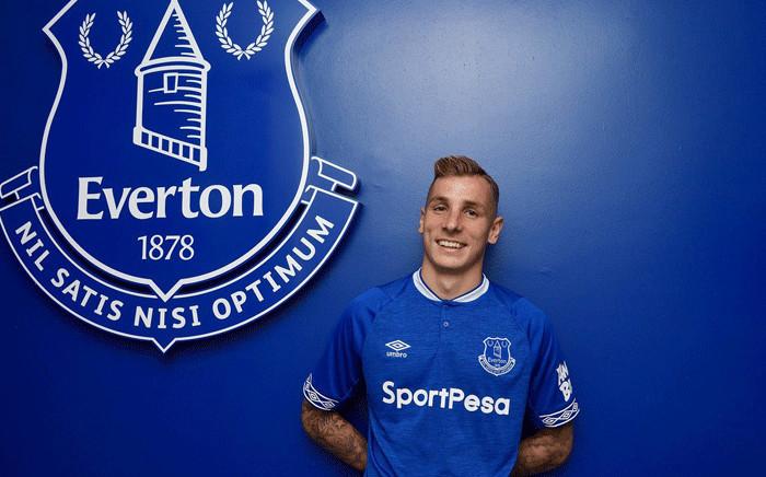 Lucas Digne. Picture: @Everton/Twitter