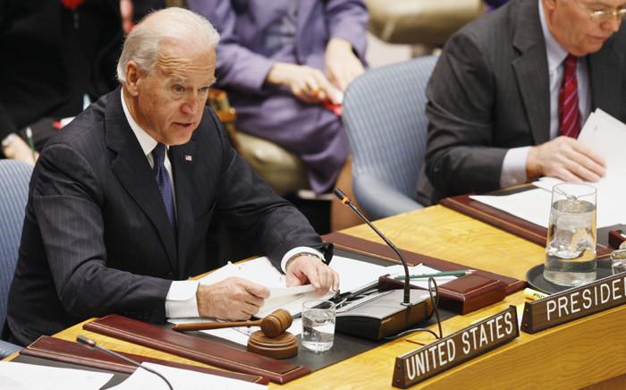 Joe Biden. Picture: United Nations Photo.
