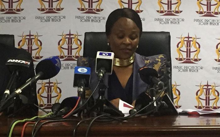 FILE: Advocate Busisiwe Mkhwebane. Picture: Kgothatso Mogale/EWN.