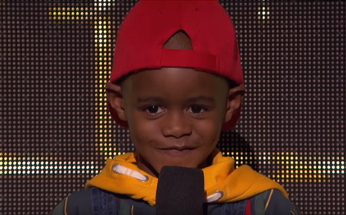 A screengrab of 6-year-old DJ Arch Junior. Picture: YouTube