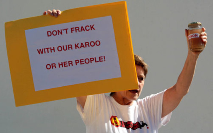 An environmental group says it's prepared to go to court in a bid to stop fracking in the Karoo. Picture: Sapa