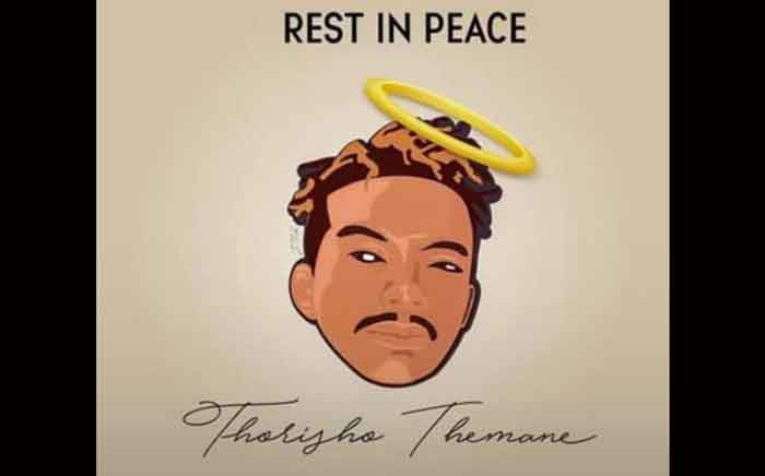 A illustration of Thorisho Themane that was circulated on social media following his murder. Picture: @tumisole/Twitter