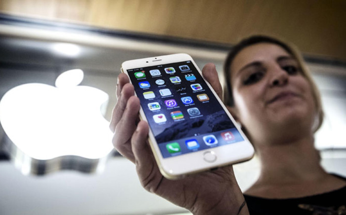The iPhone 6. Picture: EPA.
