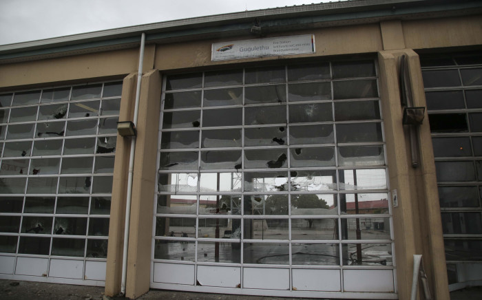 FILE: The Gugulethu Fire Station was vandalised during a protest in the area. Picture: Cindy Archillies/EWN.