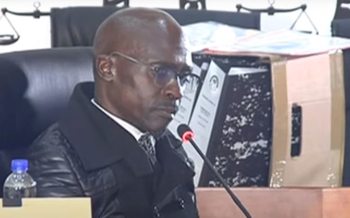 A screengrab of former Public Enterprises minister, Malusi Gigaba, appearing at the state capture commission on 21 June 2021. Picture: SABC/YouTube