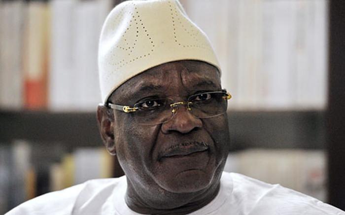 Ibrahim Boubacar Keita won Mali's presidential election runoff on 15 August 2013. Picture: AFP
