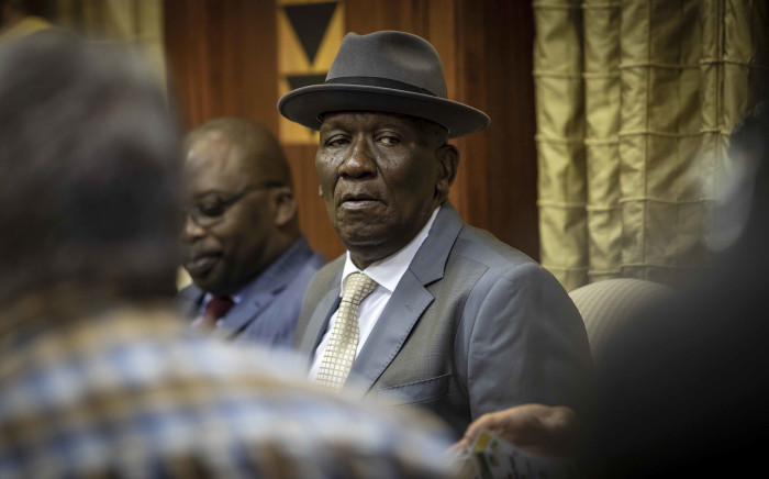 Minister of Police Bheki Cele at the announcement of the new NDPP at the Union Buildings in Pretoria on 5 December 2018. Picture: Thomas Holder/EWN