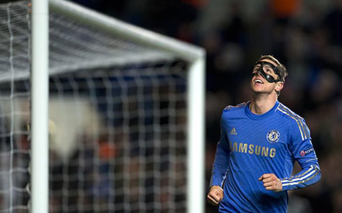 Chelsea's Spanish striker Fernando Torres. Picture: AFP