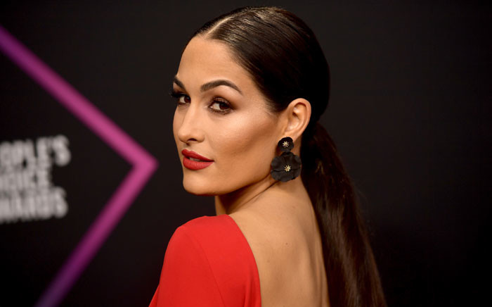 Nikki Bella attends the People's Choice Awards 2018 at Barker Hangar on 11 November 2018 in Santa Monica, California. Picture: Getty Images/AFP
