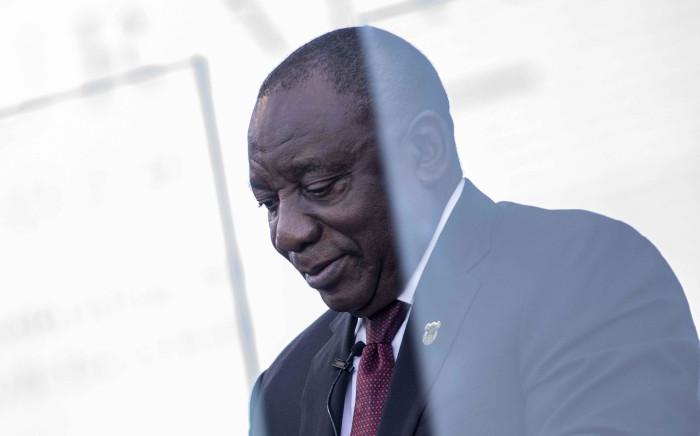 FILE: President Cyril Ramaphosa. Picture: Abigail Javier/EWN