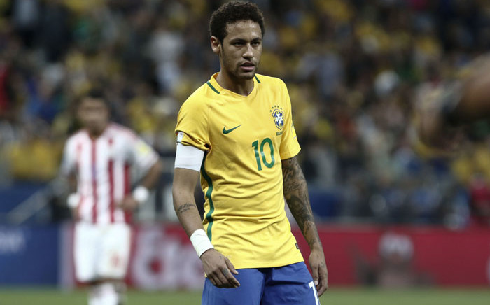 Brazil forward Neymar - the world's most expensive footballer. Picture: AFP