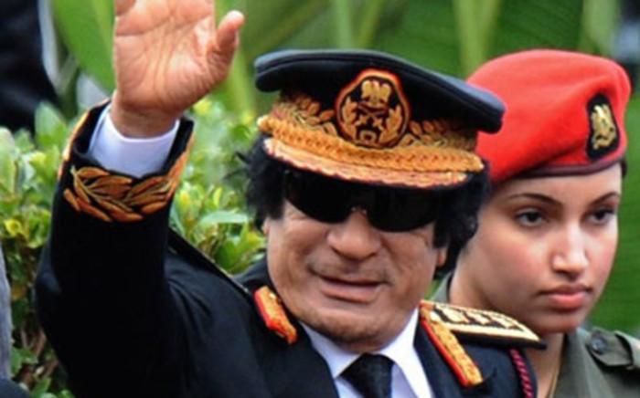 Muammar Gaddafir. Picture: AFP.