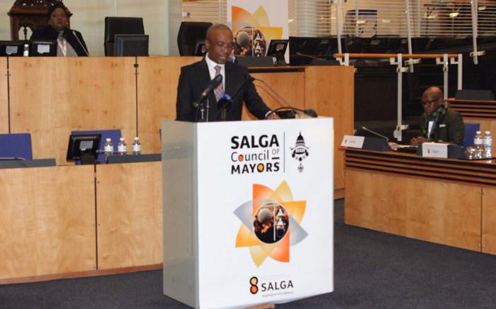 Salga president Parks Tau. Picture: @SALGA_Gov/Twitter