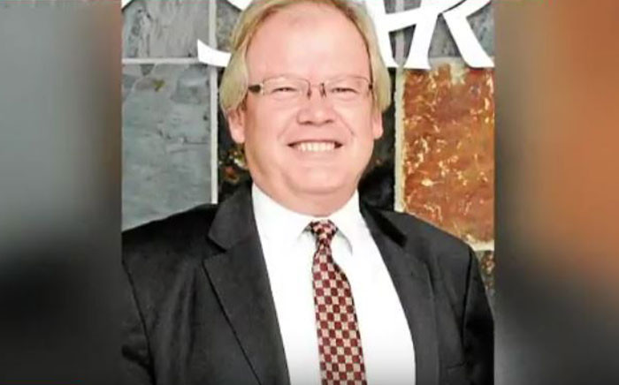 FILE: Former South African Revenue Services official Vlok Symington. Picture: YouTube screengrab.