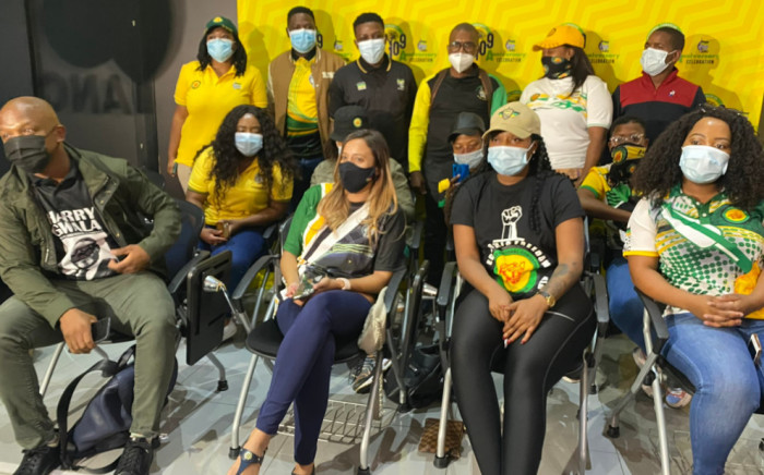The African National Congress on 8 April 2021 announced the appointment of 35 young people tasked with reviving the ANC Youth League. Picture: Twitter/@FasihaHassan