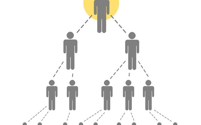 A pyramid scheme. Picture: Pixabay.com